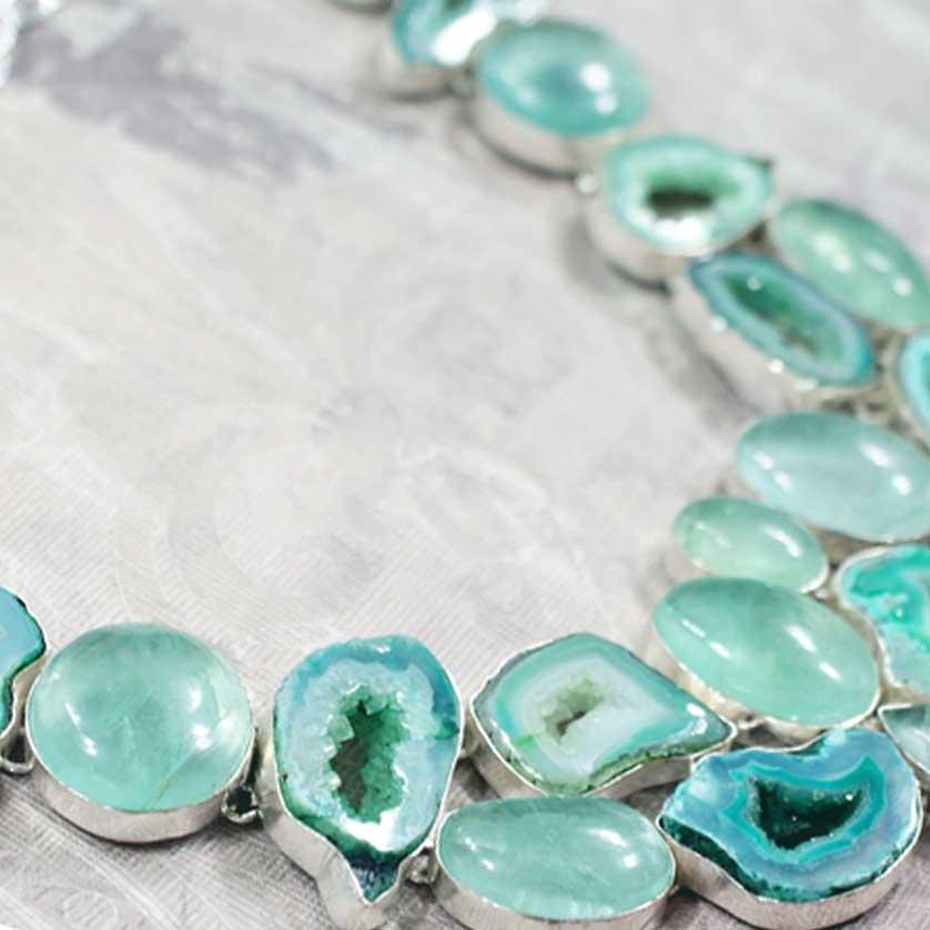 Collar de Cristales Naturales