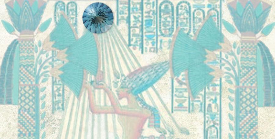 Dios Ra (Egipto) Topacio