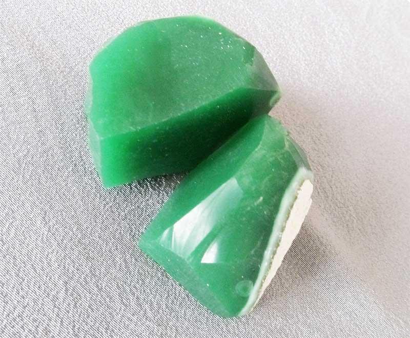 Piedra y cristal de Jade
